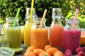 Fresh Vegetables And Fruit Overall Body Juice Cleanse