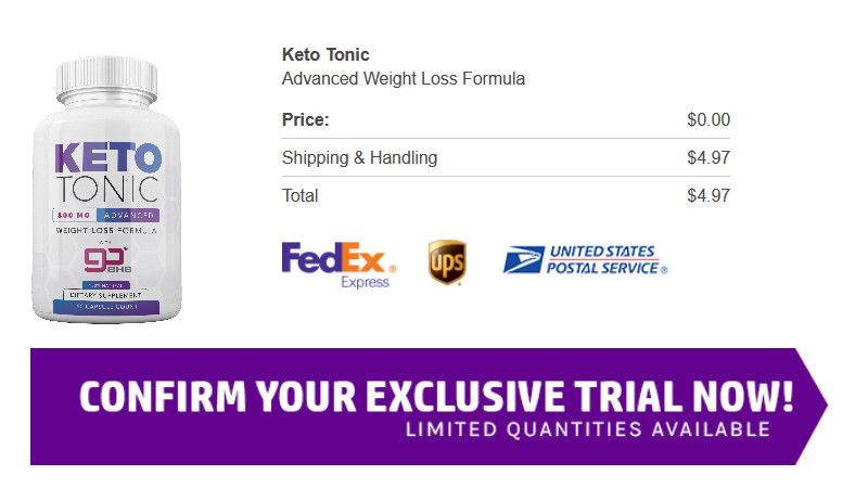 Keto Tonic Diet Pills Latest 2020 Reviews